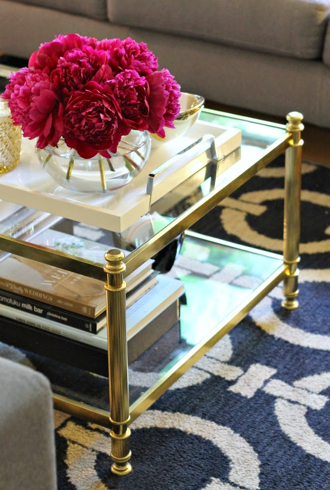 Navy Gold Interior Inspiration Design Fixation