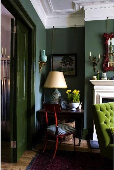 Shades Of Green Interior Design Inspiration Design