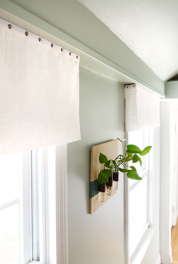 Easy Diy No Sew Window Valance Design Fixation