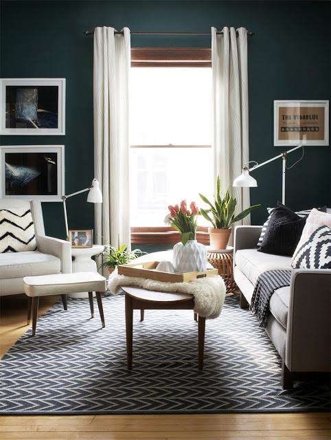 Trend Alert 10 Examples Of Dark Green Walls Design