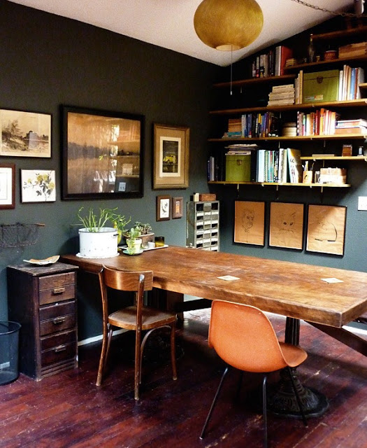 Trend Alert /// 10 Examples of Dark Green Walls | Design ...