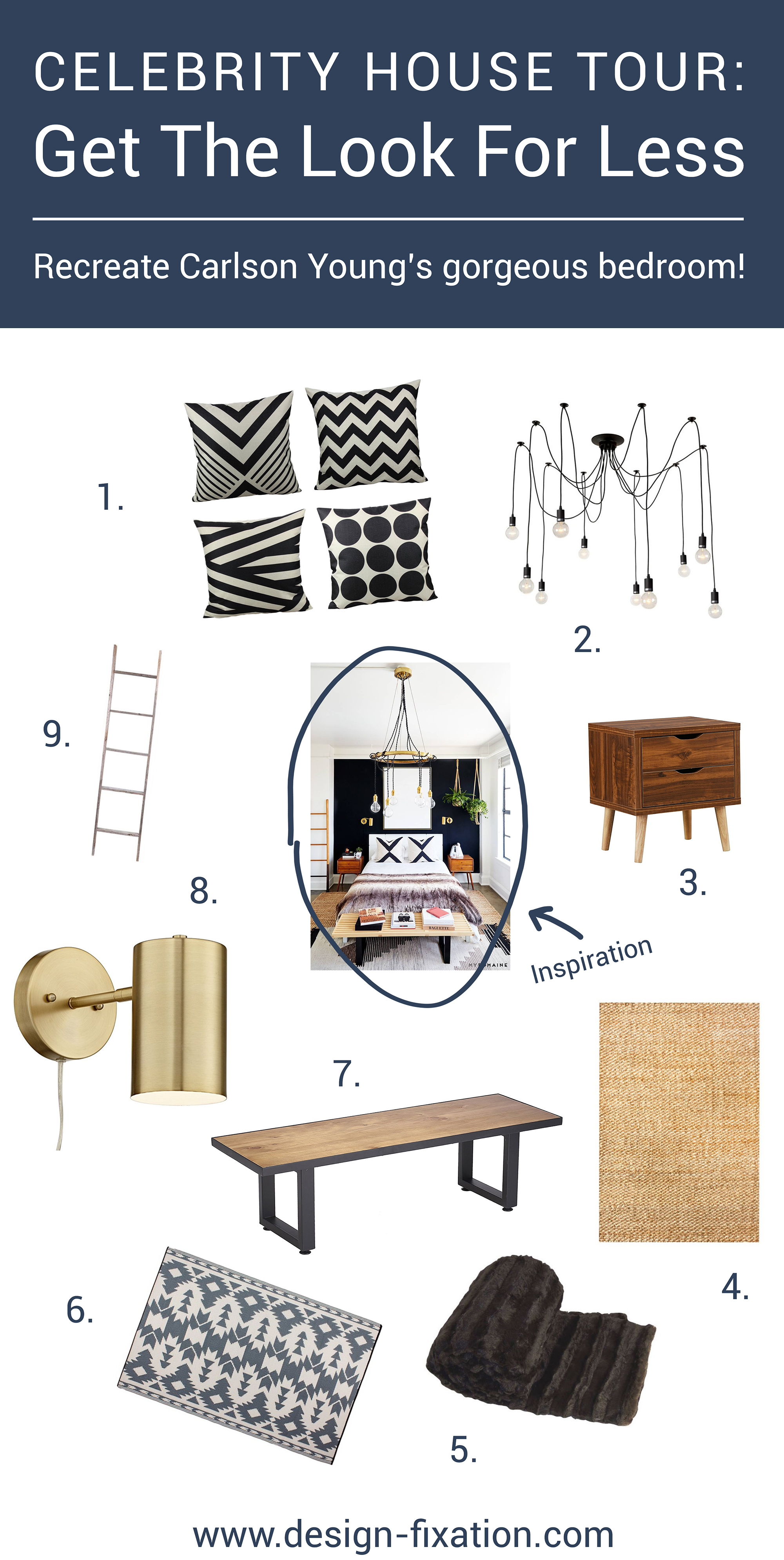 Look For Less Home Decor from design-fixation.com
